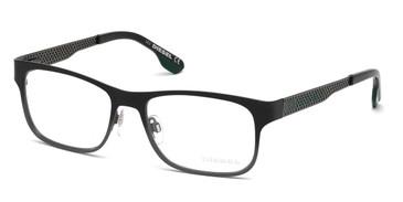Black Diesel DL5074 Eyeglasses.