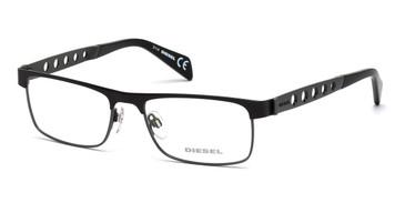 Black Diesel DL5114 Eyeglasses.