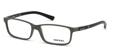 Matte Beige Diesel DL5179 Eyeglasses.