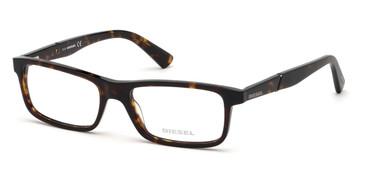 Dark Havana Diesel DL5292 Eyeglasses.