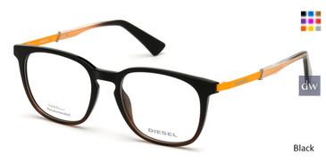 Black Diesel DL5349 Eyeglasses.