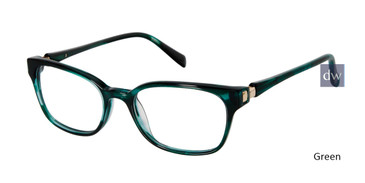 Green Tura By Lara Spencer LS120 Eyeglasses.