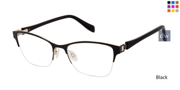 Black Tura By Lara Spencer LS119 Eyeglasses.