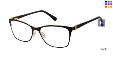 Black Tura By Lara Spencer LS118 Eyeglasses.