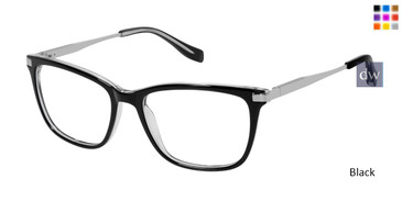 Black Tura By Lara Spencer LS116 Eyeglasses.