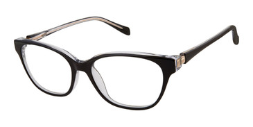 Black Tura By Lara Spencer LS114 Eyeglasses.