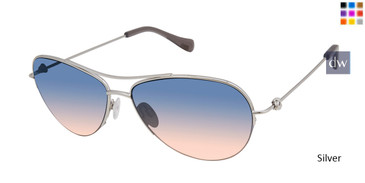 Silver Tura By Lara Spencer LS518 Sunglasses.