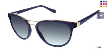 Blue Tura By Lara Spencer LS516 Sunglasse.