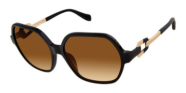 Black Tura By Lara Spencer LS515 Sunglasses.