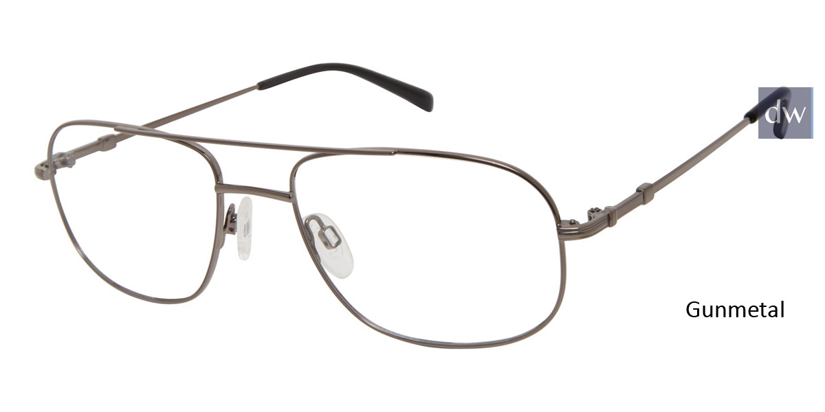 Gunmetal Titan Flex M987 Eyeglasses.