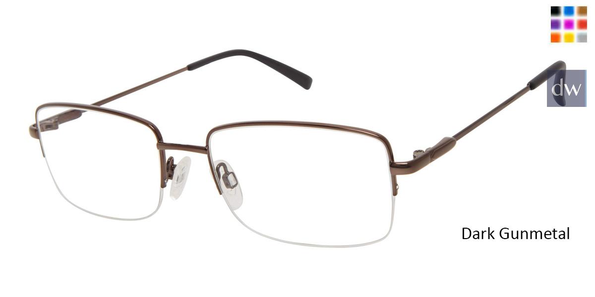 Dark Gunmetal Titan Flex M986 Eyeglasses.