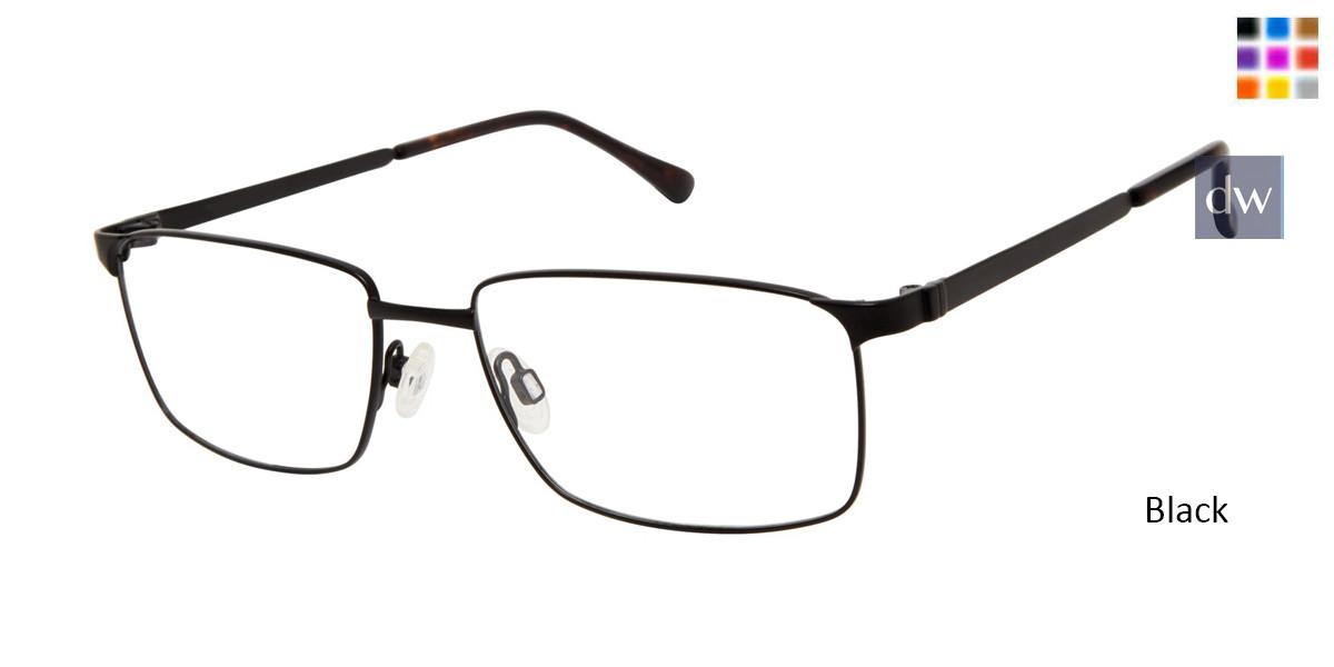 Black Titan Flex M985 Eyeglasses.