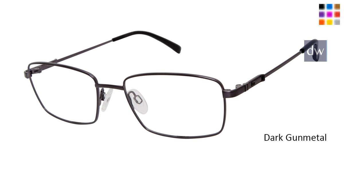 Dark Gunmetal Titan Flex M984 Eyeglasses.