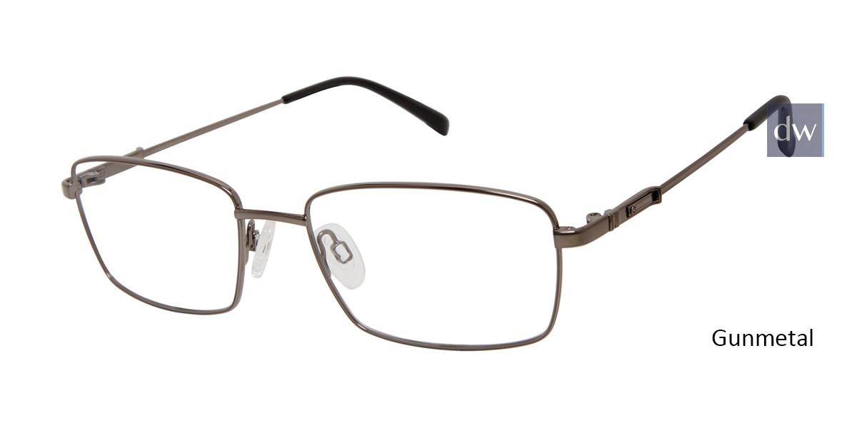 Gunmetal Titan Flex M984 Eyeglasses.