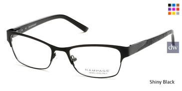 Shiny Black Rampage RA0194 Eyeglases.