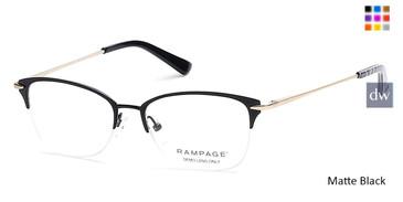 Matte Black Rampage RA0202 Eyeglasses.