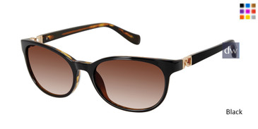 Black Tura By Lara Spencer LS513 Sunglasses.