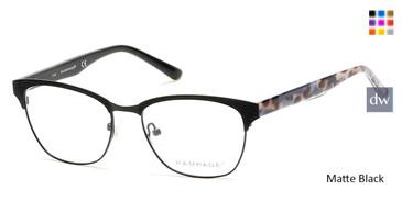 Matte Black Rampage RA0206 Eyeglasses.