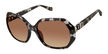 Black Tortoise Tura By Lara Spencer LS511 Sunglasses.