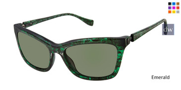 Emerald Tura By Lara Spencer LS510 Sunglasses.