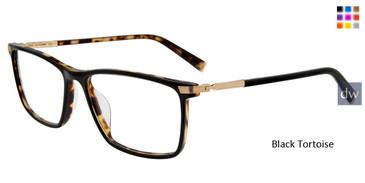 Black Tortoise John Varvatos V408 Eyeglasses.
