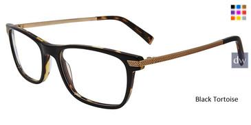 Black Tortoise John Varvatos V412 Eyeglasses.
