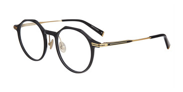 Black John Varvatos V413 Eyeglasses - Teenager.