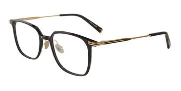 Black John Varvatos V414 Eyeglasses.