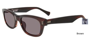 Brown John Varvatos V538 Sunglasses.