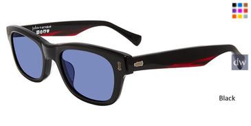 Black John Varvatos V538 Sunglasses.