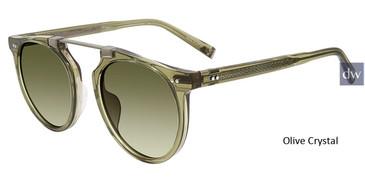 Olive Crystal John Varvatos V602 Sunglasses.