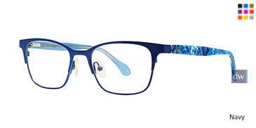Navy Lilly Pulitzer GIRLS RX Kizzy Eyeglasses - Teenager