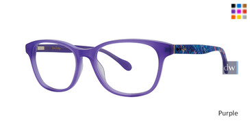 Purple Lilly Pulitzer GIRLS RX Stepha Eyeglasses - Teenager