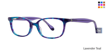 Lavender Teal Lilly Pulitzer GIRLS RX Hennie Eyeglasses - Teenager