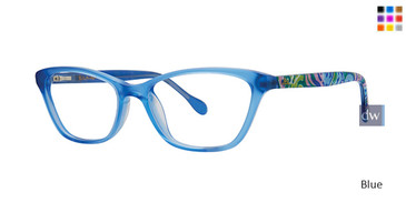 Blue Lilly Pulitzer GIRLS RX Gracie Eyeglasses - Teenager