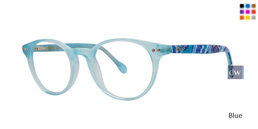 Blue Lilly Pulitzer GIRLS RX Carlton Mini Eyeglasses