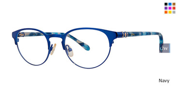 Navy Lilly Pulitzer GIRLS RX Hani Eyeglasses