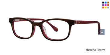 Havana Peony Lilly Pulitzer GIRLS RX Dossie Eyeglasses - Teenager