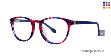 Flamingo Tortoise Lilly Pulitzer GIRLS RX Fanning Eyeglasses