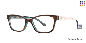 Tortoise Fern Lilly Pulitzer GIRLS RX Cozy Eyeglasses - Teenager
