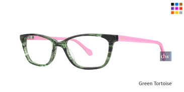 Green Tortoise Lilly Pulitzer GIRLS RX Livie Eyeglasses