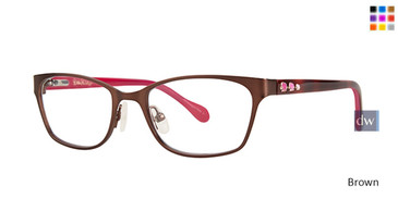 Brown Lilly Pulitzer GIRLS RX Amalie Eyeglasses