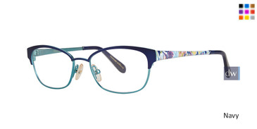 Navy Lilly Pulitzer GIRLS RX Morgana Eyeglasses
