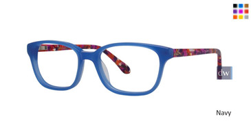 Navy Lilly Pulitzer GIRLS RX Topanga Eyeglasses
