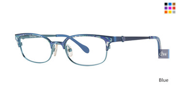 Blue Lilly Pulitzer GIRLS RX Effie Eyeglasses - Teenager