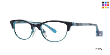 Navy Lilly Pulitzer GIRLS RX Kipper Eyeglasses