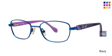 Navy Lilly Pulitzer GIRLS RX Coraline Eyeglasses