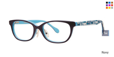 Navy Lilly Pulitzer GIRLS RX Lara Eyeglasses - Teenager