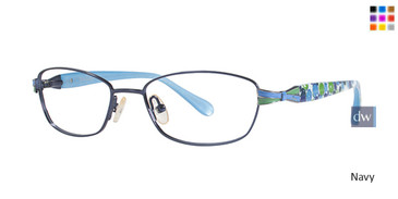 Navy Lilly Pulitzer GIRLS RX Rosaline Eyeglasses