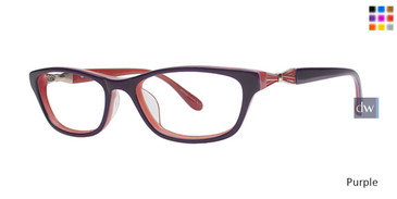 Purple Lilly Pulitzer GIRLS RX Minta Eyeglasses - Teenager